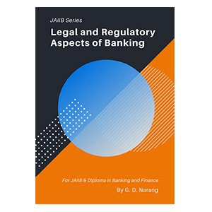 JAIIB Books - legal and regulatory aspects of banking