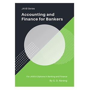 JAIIB Books - Accounting and Finance for Bankers
