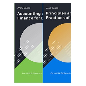JAIIB Books - Principles & Practices of Banking + Accounting & Finance for Bankers
