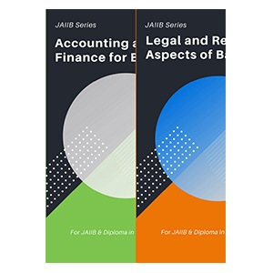 JAIIB Books - Legal & Regulatory Aspects of Banking Operations + Accounting & Finance for Bankers